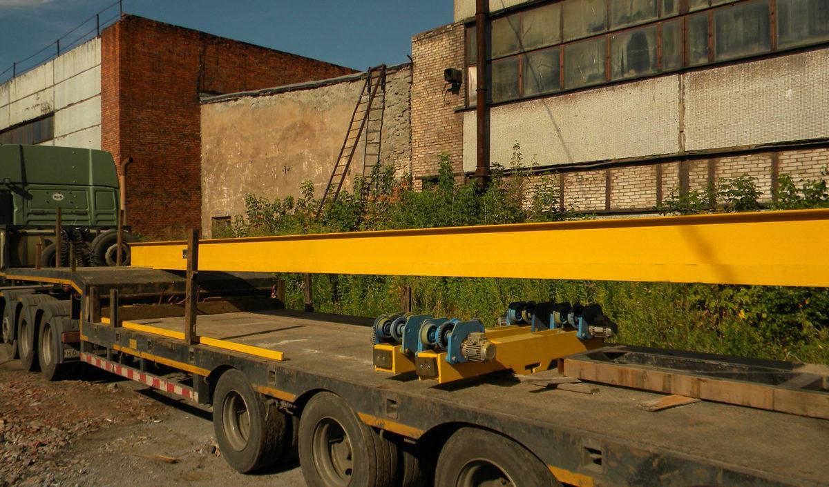 dostavka 1 - Подвесная кран-балка 1 тонна