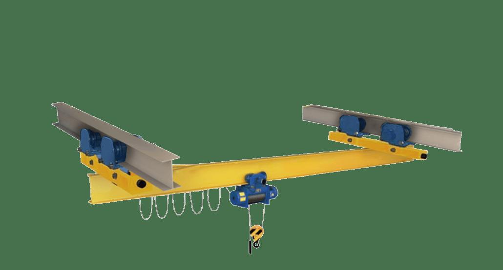 Подвесной мостовой однобалочный кран