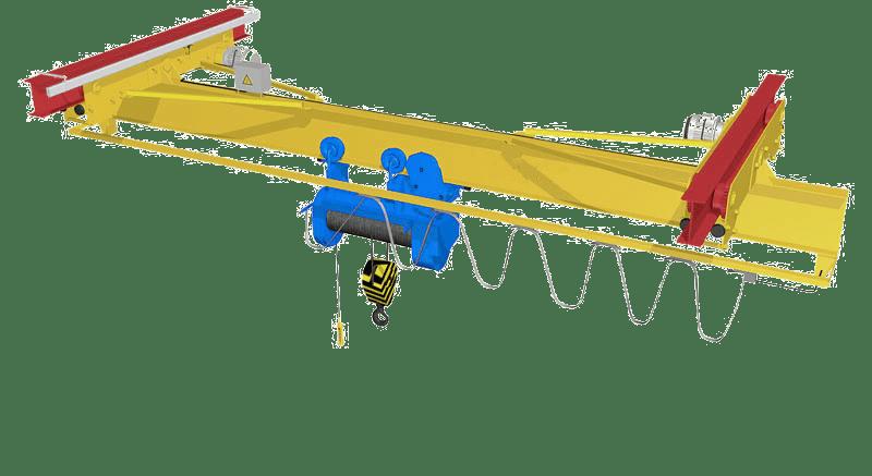 электрическая подвесная кран-балка