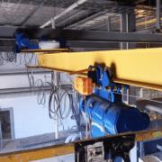 YElektricheskie podvesnye kran balki 180x180 - Опорные электрические кран-балки