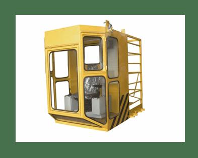 kabina krana - Двухбалочный мостовой кран 50/10 т.